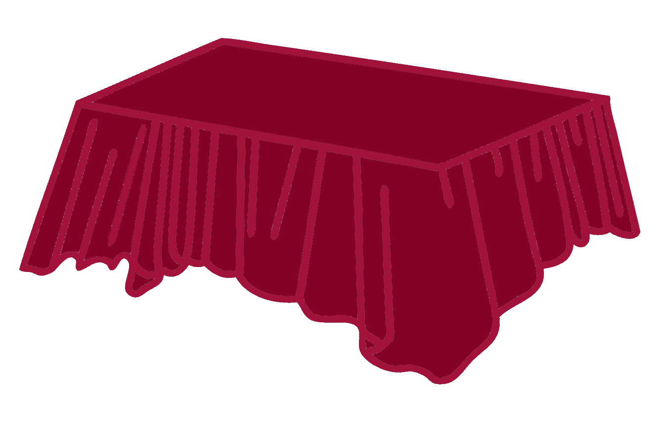Plastic rectangle tablecovers