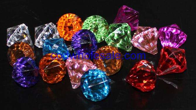 Clear Transparent Acrylic Glass Like Diamonds Are