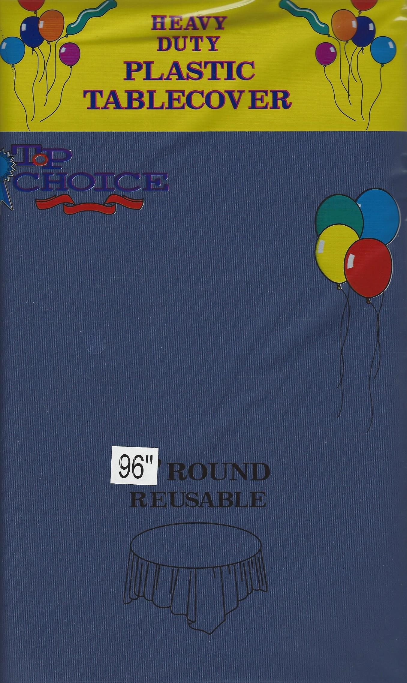 96 inch round tablecloth - Review This Item