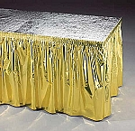 Metallic tablecovers