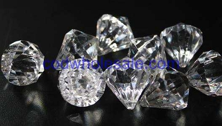 Transparent Clear Acrylic Glass Like Diamonds For Many Uses