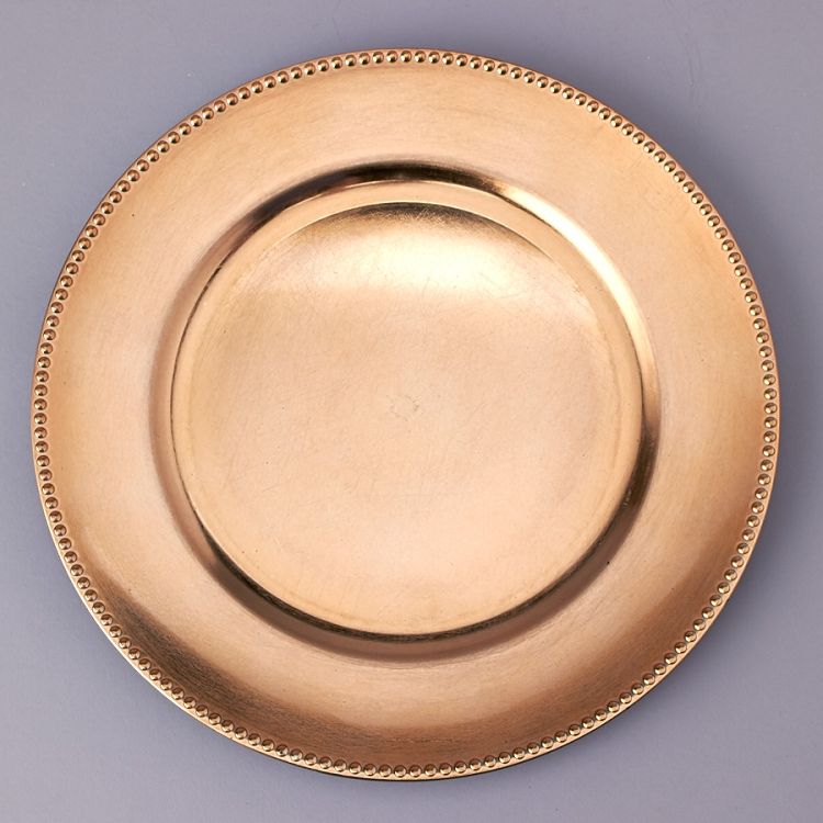 Plastic Charger Plate Charger Plate Decorative Plate