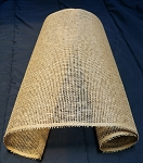 "Burlap mesh 21"" wide x 5 yards long"