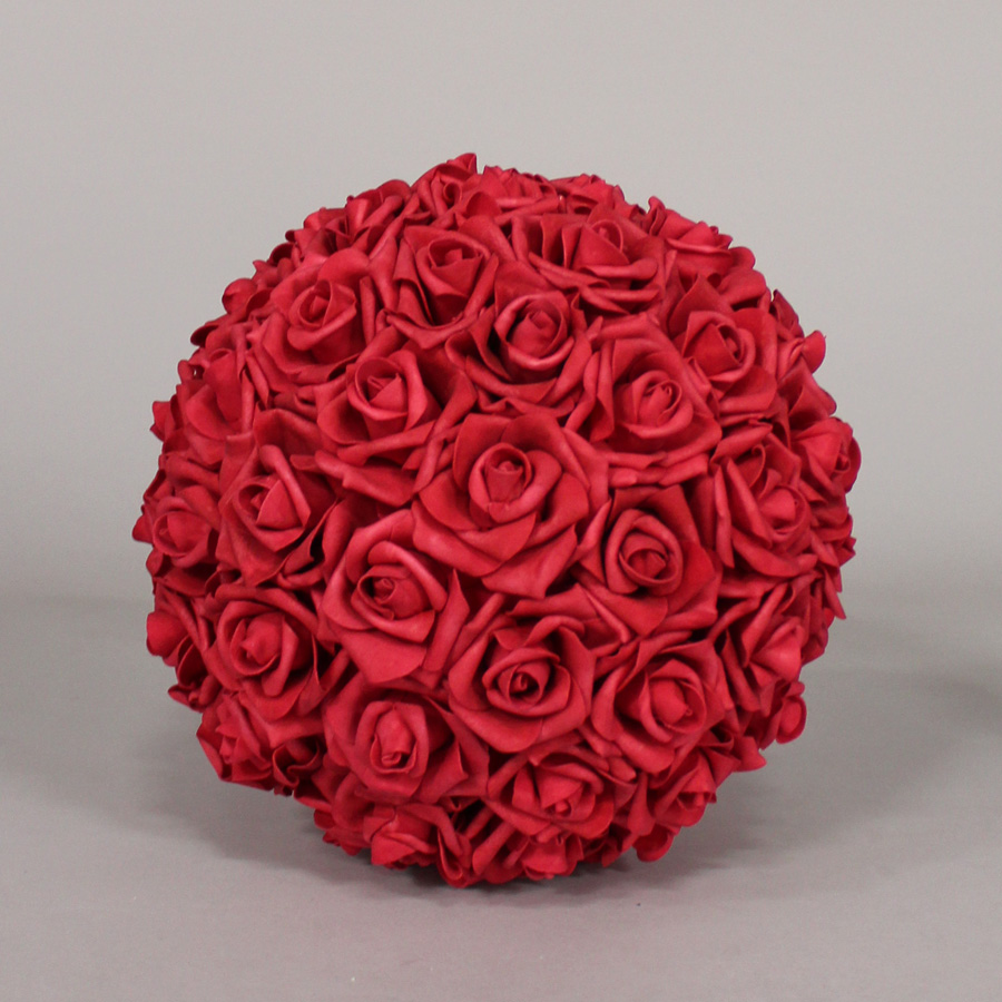 Red Foam Flower Balls Red Foam Flower Balls Flower Balls