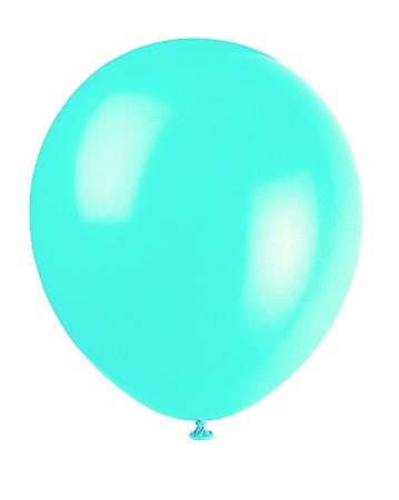 Teal Latex Balloons 86