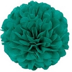 HUNTER GREEN Tissue paper Pom Pom