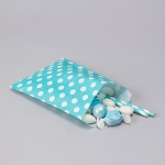 Treat Bag Polka Dot AQUA
