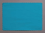 Paper place mat TURQUOISE 863131B