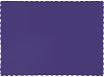 Paper place mat PURPLE 863268B