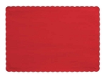 Paper place mat RED 863548B