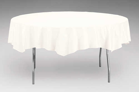 White Plastic Backed Paper Lined Tablecloths 54 Quot X 108 Quot Black