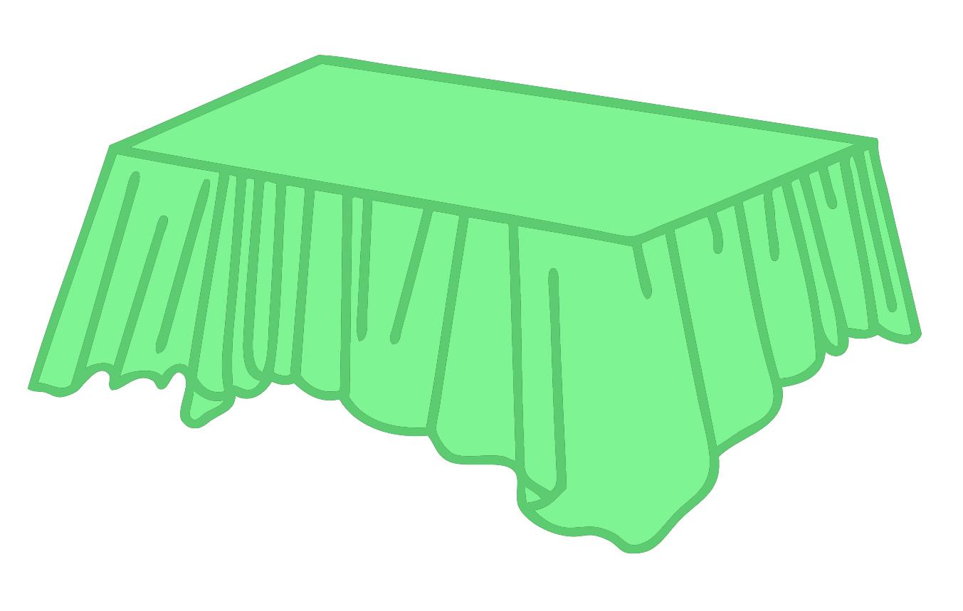 Mint Green Heavy Duty Plastic Tablecovers Rectangular