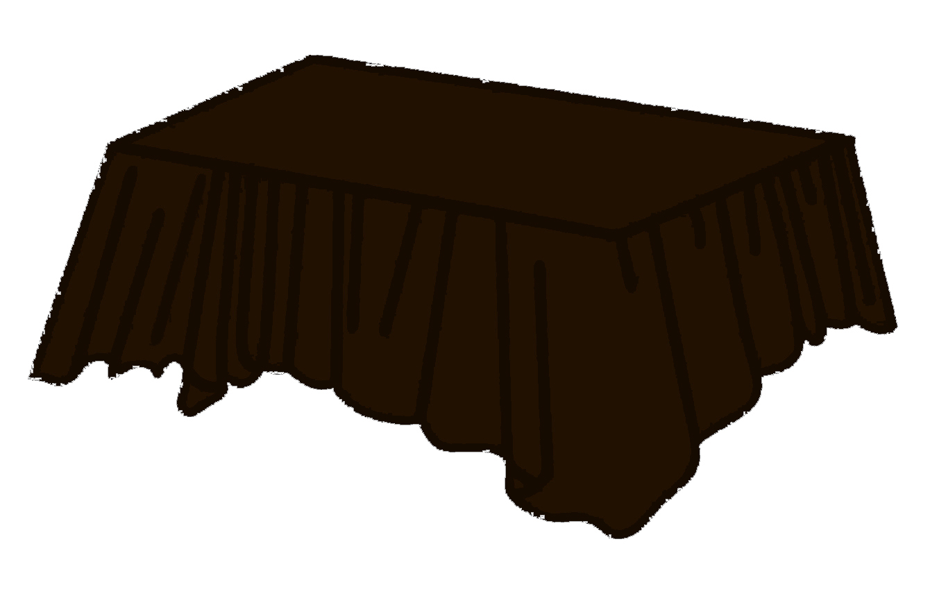 Chocolate Brown Plastic Rectangular Tablecloths Tablecovers