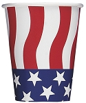 Paper cups 9 ounce 8 pieces