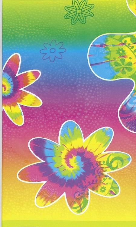 Plastic Birthday Tie Dye Pattern Print 54 Quot X 108 Quot Banquet