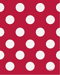 Polka dot plastic loot bags RED/WHITE 8 pcs 62072