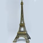 Metal Eiffel Towers ANTIQUE GOLD