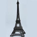 Metal Eiffel Towers BLACK