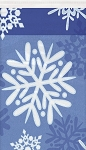 Snowflake table cloth 54