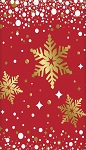 Snow flake table cloth 54