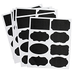 Chalkboard Labels 6 sheets/bag (48 stickers)