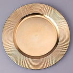 Plastic Charger Plate 13inch GOLD 150498GD