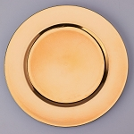 Plastic Charger Plate 13inch GOLD 150497GD