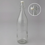 Glass Bottle with Latch
