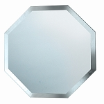 Octagon Beveled Edged Glass Mirror 8inch