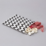 Treat Bag Chevron BLACK