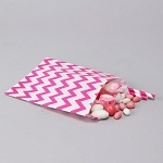 Treat Bag Chevron FUCHSIA