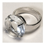 Crystal Napkin Ring Holder 80-0230cl