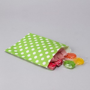 Treat Bag Polka Dot APPLE