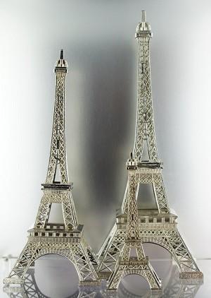 Metal Eiffel Towers