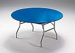 "ROYAL BLUE Stayput tablecover for 60"" round table 37242"