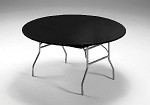 "BLACK Stayput tablecover for 60"" round table 703000"