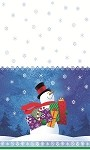 "24743 Snowman gifts 54""x84"""