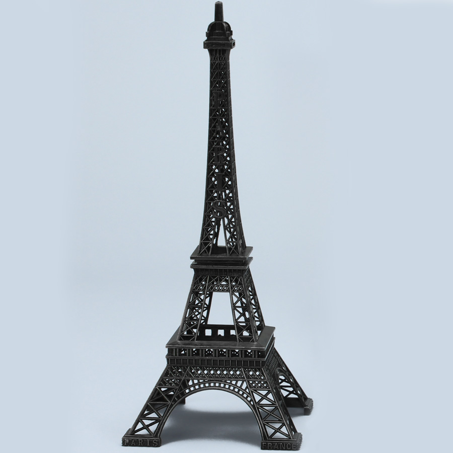 Black Metal Eiffel Towers