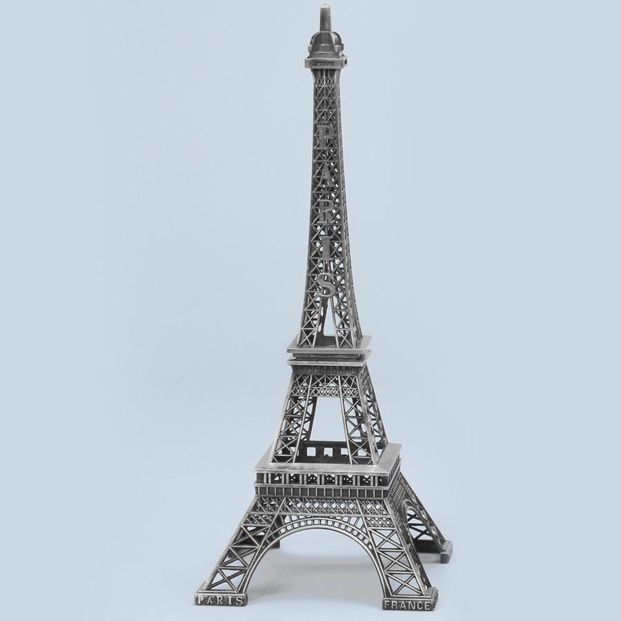 Metal Eiffel Towers Silver