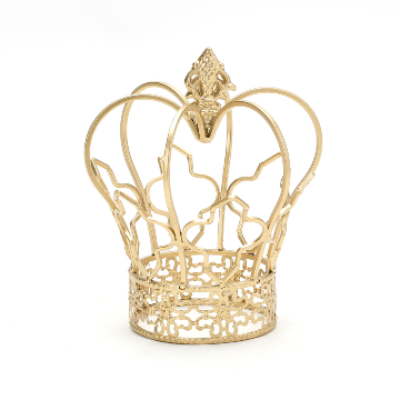Gold Metal wire crown