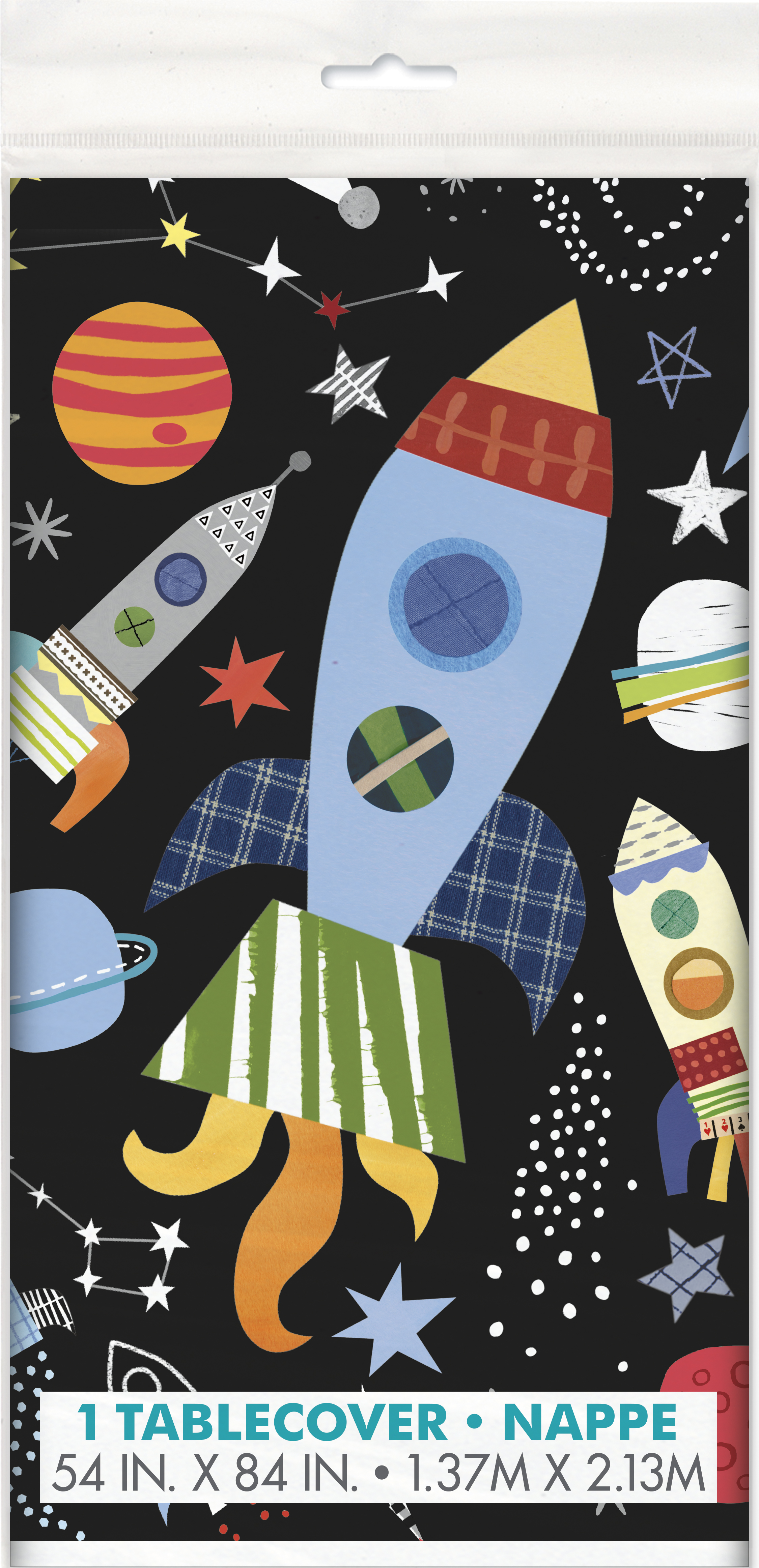 Outer space tablecloth