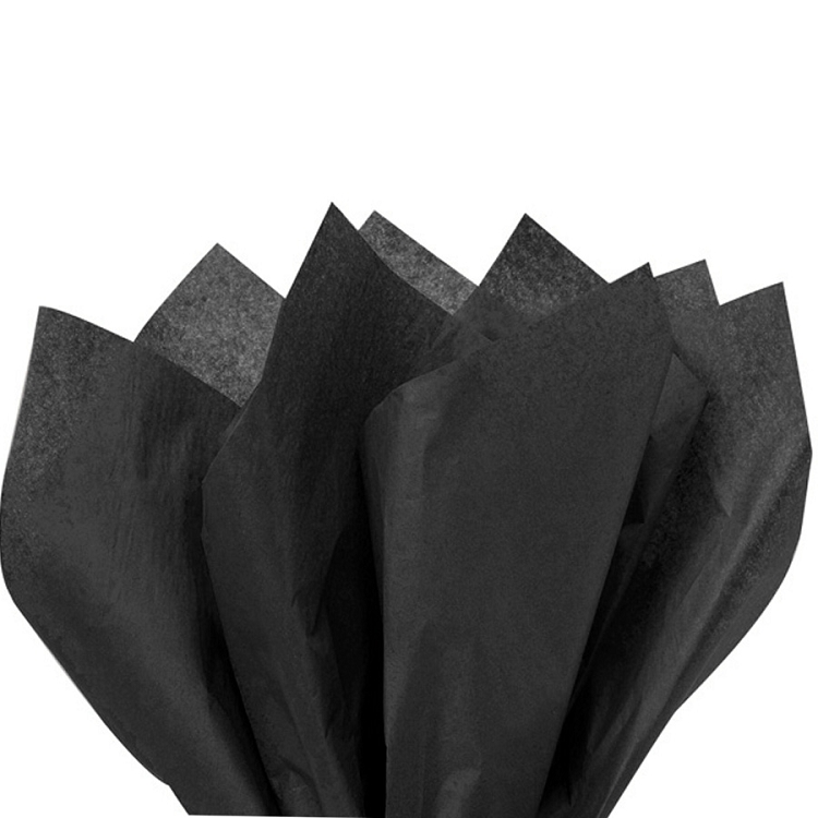 Tissue Paper Black Tissue Paper Gift Wrapping Paper