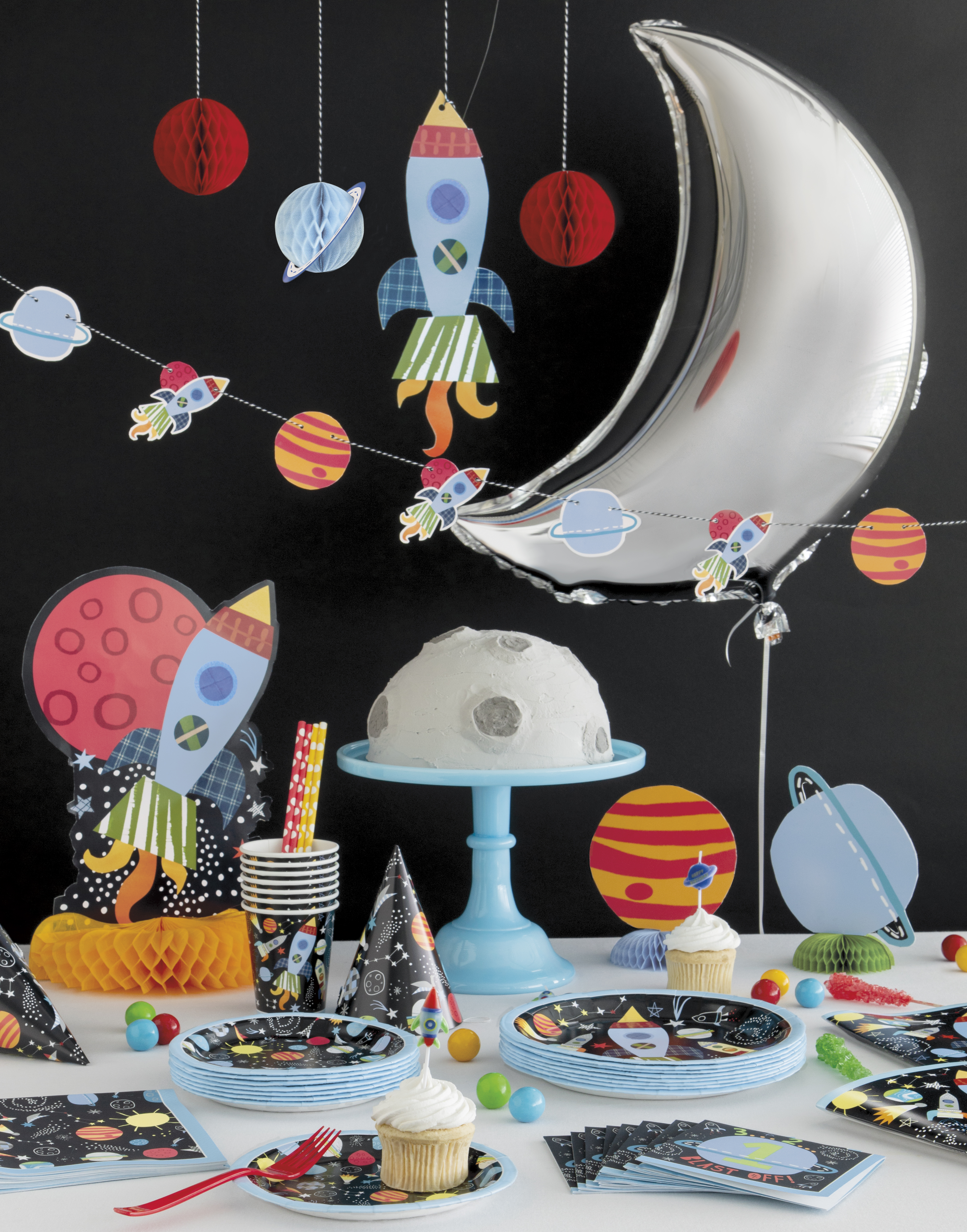Outer Space Tableware