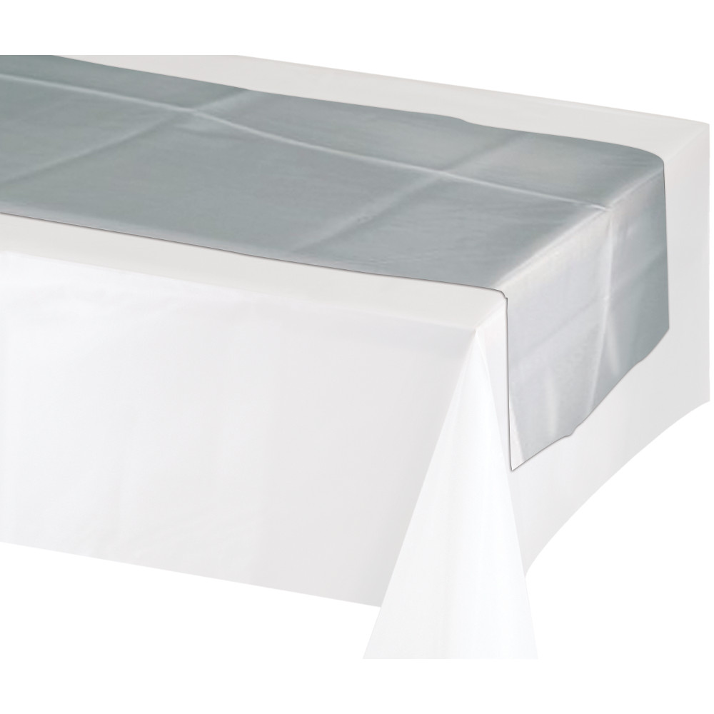 Paper-plastic-table runners
