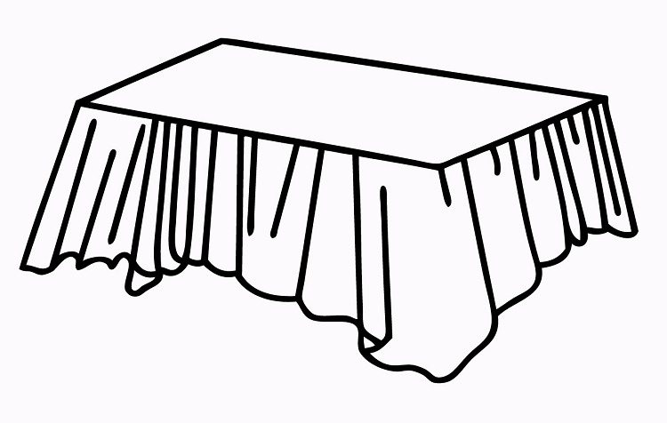 White Plastic Tablecovers Rectangular Tablecloths Table