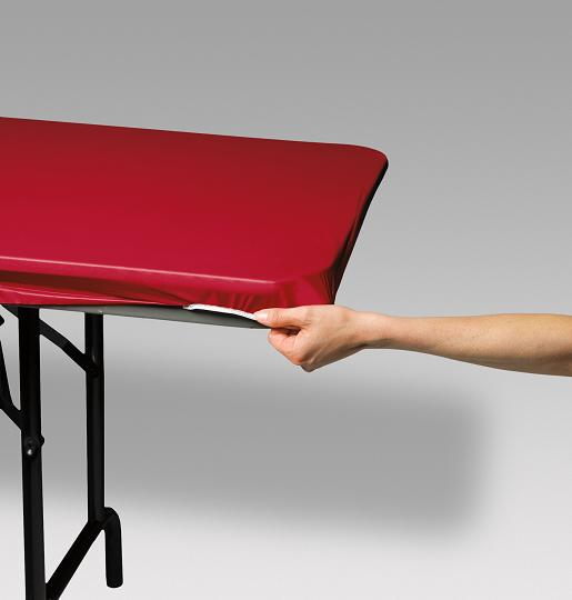 Kwik Covers Disposable Re Useable Ed Elastic Plastic Table