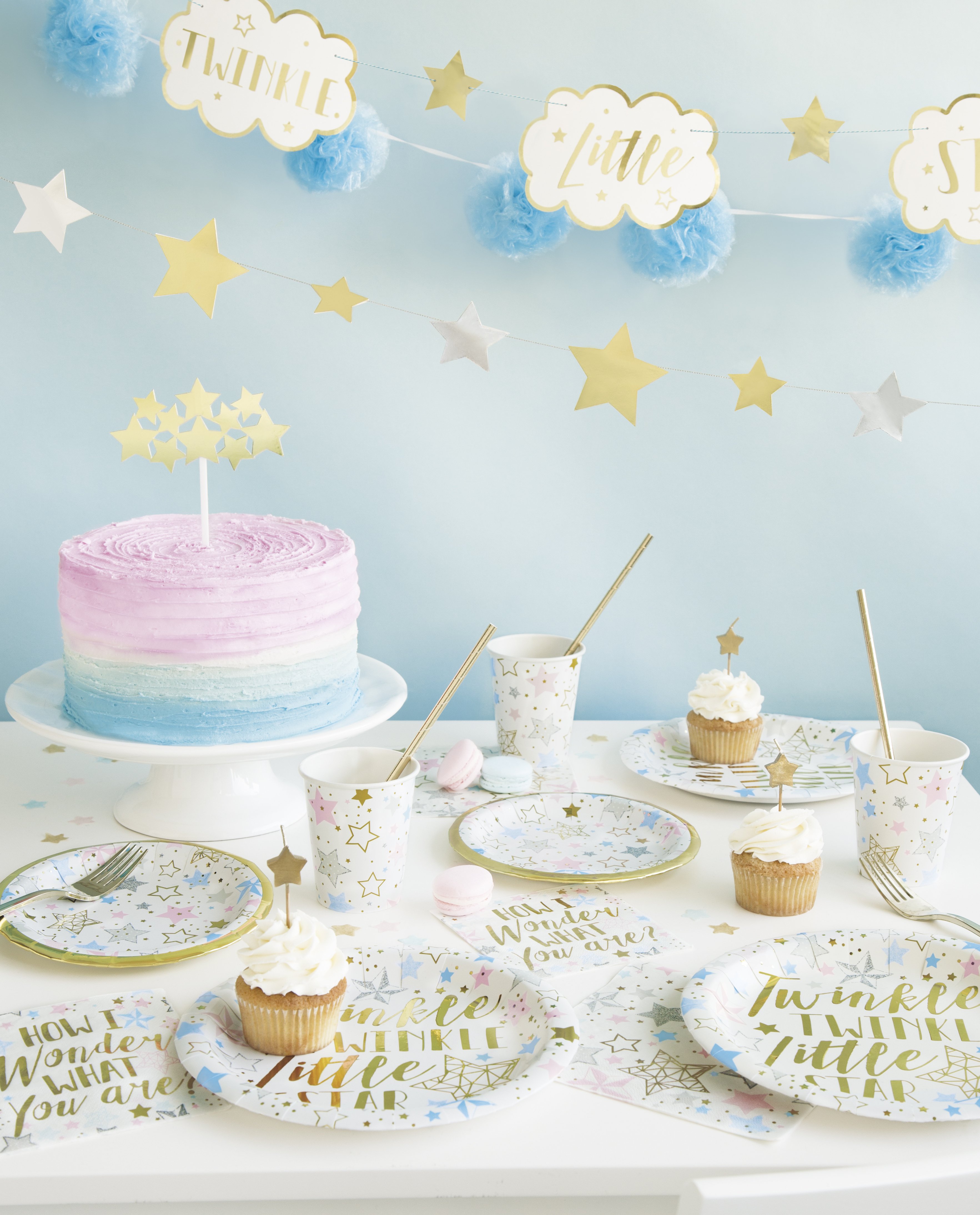 Twinkle twinkle little star tableware