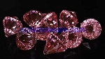 Acrylic diamonds PINK