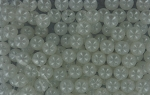 14mm plastic craft beads 1#  WHITE