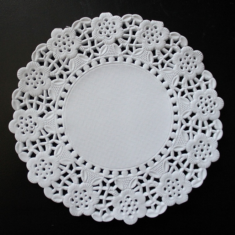 White Paper Doilies Round Doilies Placemat Doilies Oval